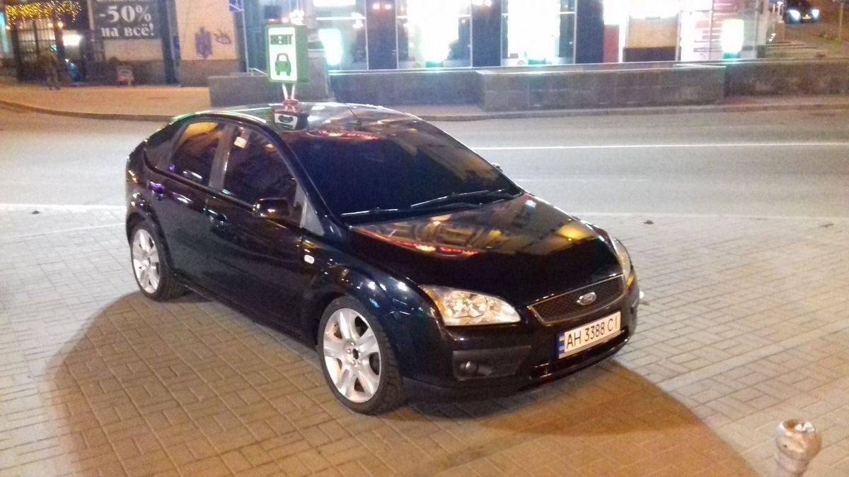 Авто, Форд, черный цвет