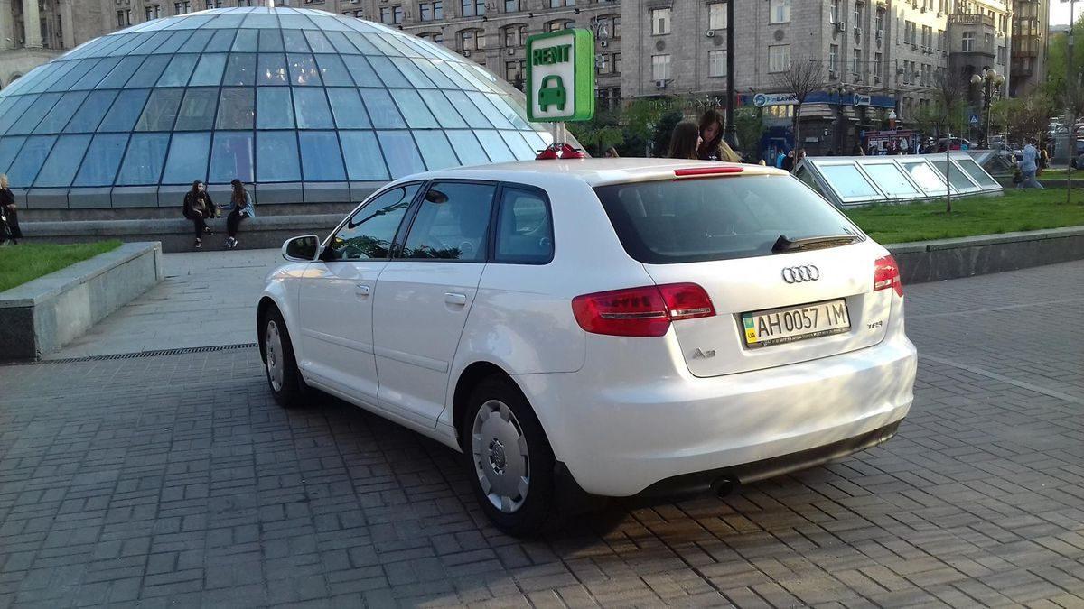 Авто Audy, белый цвет