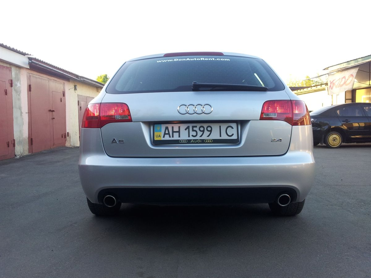 Автомобиль, Audi, вид сзади