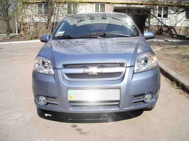 Chevrolet Aveo Light Blue