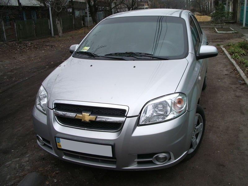 Chevrolet Aveo Silver