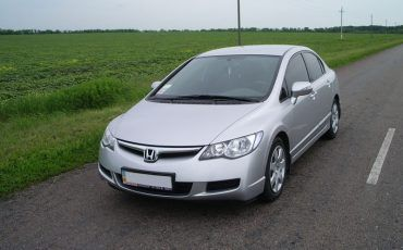 Авто, Honda Civic Silver