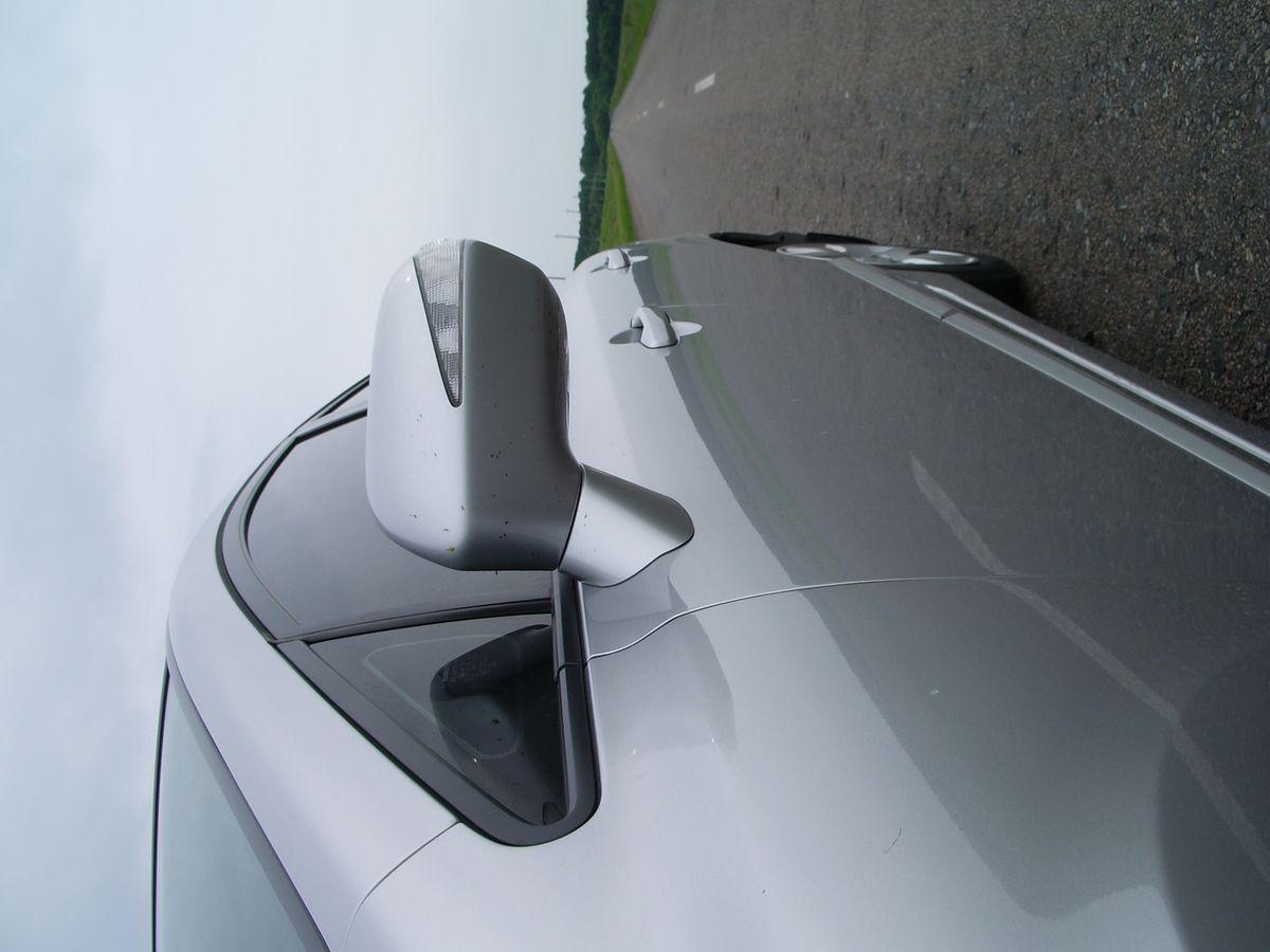 Авто Honda Civic, зеркало