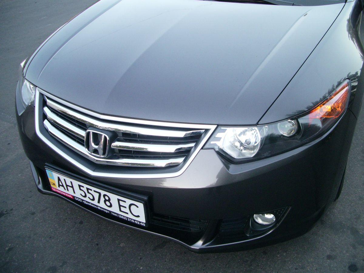 Автомобиль, Honda Accord, вид спереди сверху