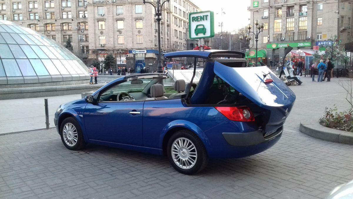Автомобиль Renault, кабриолет