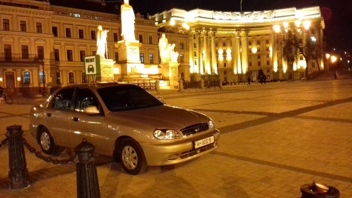Авто Daewoo, вид спереди