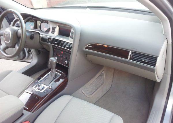 Машина, салон, вид внутри, Audi A6