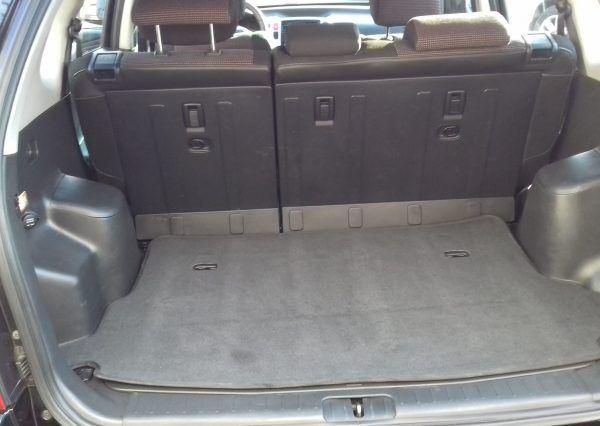 Автомобиль Hyundai, внутри багажника