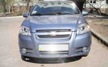 Chevrolet Aveo Light Blue
