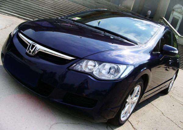 Авто, Honda Civic, черного цвета