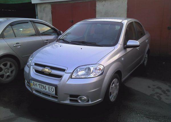 Chevrolet Aveo, автомобиль, вид спереди