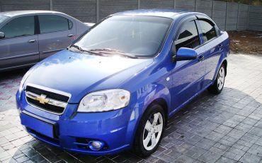 Chevrolet Aveo Blue